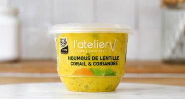 L'Atelier V* - Houmous de Lentille Corail et Coriandre