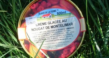 Les Glaces de la Promesse - Crème Glacée Au Nougat De Montélimar