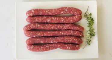 Champ Roi des Saveurs - [Précommande] Saucisses de Porc Cul Noir x 6 - 400 g