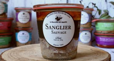 La Bourriche aux Appétits - Pâté de Sanglier 200 G