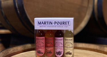 Maison Martin-Pouret - Coffret Découverte 4 Vinaigres
