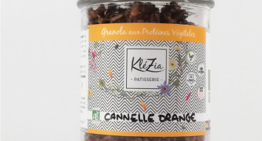 KléZia Pâtisserie - Granola Cannelle Orange