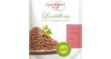 Choucroute André Laurent - Lentillons De La Champagne Cuisinés À La Graisse D'oie