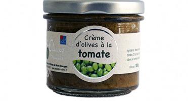 Les amandes et olives du Mont Bouquet - Creme d'olives à la tomate 100g