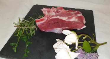 La Ferme du Montet - [SURGELE] Côtes de Porc Noir Gascon BIO  - 100 g