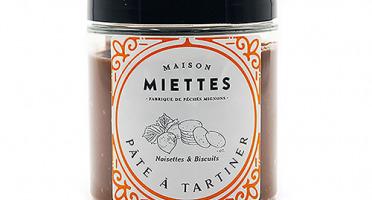 Maison Miettes - Pâte À Tartiner Noisettes & Biscuits
