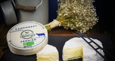 Ferme de La Tremblaye - Camembert Fermier Bio au Lait Entier 250g