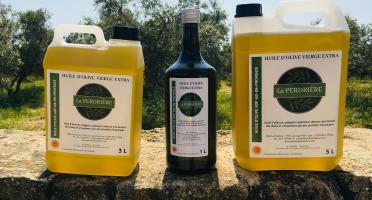 Spiruline des Oliviers - Huile D'olive Vierge Extra Aop Aix-en-provence 5L