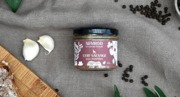 Nemrod - Terrine de Cerf aux Morilles - 100 g