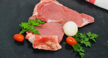 Les Délices de Vermorel - Côtes de veau Rouge des Prés dans le filet x 2