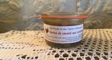 Des Poules et des Vignes à Bourgueil - Terrine De Canard Aux Carottes