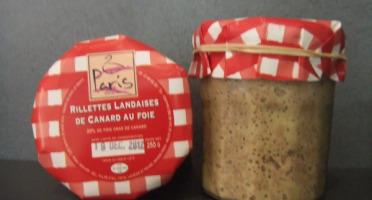 Maison Paris - Rillettes Landaises Au Foie De Canard En Pot