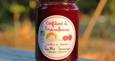 Papilles Sauvages - Confiture De Framboise - Bio