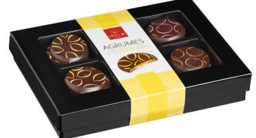 Des Lis Chocolat - Palets Aux Agrumes, 70g