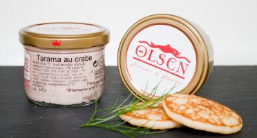 Olsen - Tarama au crabe(12%), verrine 90g