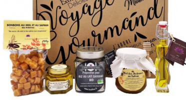"""Le safran - l'or rouge des Ardennes - Coffret """"Voyage Gourmand"""" Sucré"""