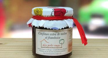 Les Perles Rouges - Confiture Extra De Melon Et Framboise
