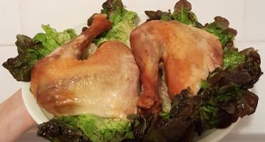 Les Volailles Fermières de Chambon - Cuisses De Poulets Marinées (piment, Paprika)