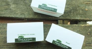 Vinaigres de la Carrière - Lot de 3 Petits Ballotins de Chocolats : nos 3 Arômes