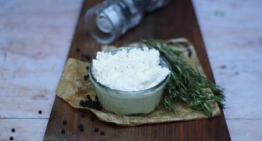 Ferme du caroire - Fromage Blanc Frais Pur Chèvre Entier 400 g