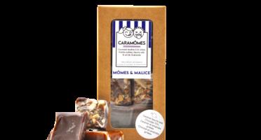 Mômes & Malice - Les Caramômes Gourmets - Pavés Tendres Au Caramel (4 Saveurs)