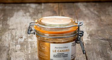 La Ferme Schmitt - Foie Gras de Canard d'Alsace Mi-cuit au Gewurztraminer Vendanges Tardives, en verrine de 150 g