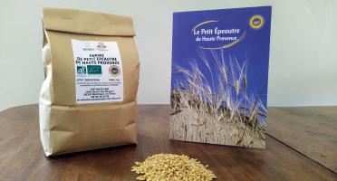Domaine L'Hermiton - Farine de Petit Epeautre de Haute Provence BIO IGP - 1 kg