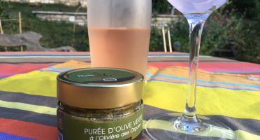 Huile des Orgues - Purée Olive Verte