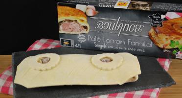 Maison Boulanger - Pâté Lorrain Familial Surgelé Cru