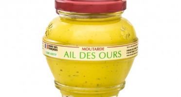 Domaine des Terres Rouges - Moutarde À L'ail Des Ours 100% Graines Françaises Sans Additif