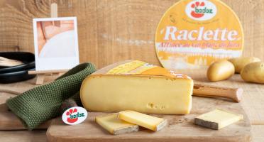 Constant Fromages & Sélections - Raclette Badoz Au Lait Cru Au Vin Blanc Du Jura - 1000g