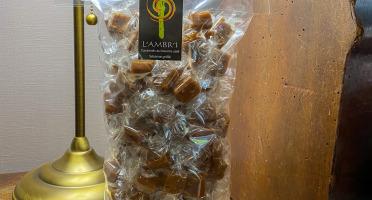 L'AMBR'1 Caramels et Gourmandises - Caramel Au Sésame - Sachet De 500g