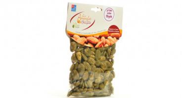 Les amandes et olives du Mont Bouquet - Amandes grillées salées au thym 200g