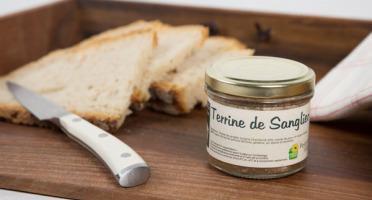 La Ferme de l'Etang - Terrine De Sanglier, 100g