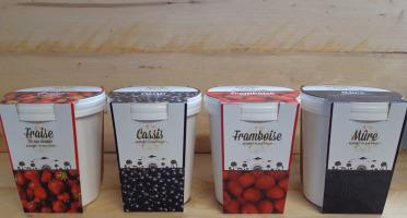 La Ferme du Logis - Assortiment de sorbets : Fraise, Cassis, Framboise et Mûre
