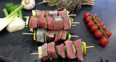 Poissonnerie Le Marlin - Brochette De Thon - 4 Pièces De 200g