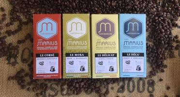 CAFÉ MARIUS - Lot De 120 Capsules