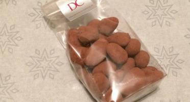 Déclinaison Chocolat - Fèves De Cacao Caramélisées Et Enrobées Chocolat Noir