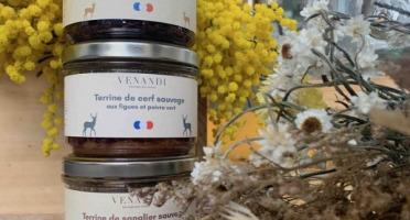 Venandi Sauvage par Nature - Panier 3 Terrines de Gibier 100% Français
