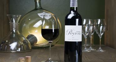 Dyvin - Château Peyrou Rouge - Castillon Côtes de Bordeaux - Lot De 3 Bouteilles