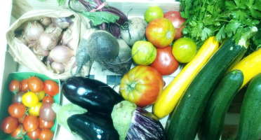 Les Jardins de Valojoulx - Panier De Légumes De Saison Moyen
