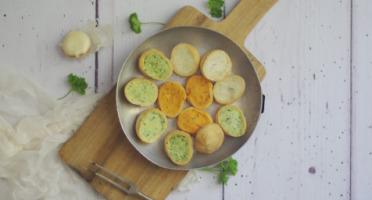 Limero l'Escargot Mayennais - Assiette De 12 Croquilles D'escargots Gros Gris Frais Garnies Aux 3 Beurres - Lot de 2