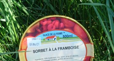 Les Glaces de la Promesse - Sorbet Framboise