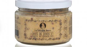 Les délices de Noémie - Petits Pots Bébé 12 mois: Lot de 6 Sauté de Dinde et Blette au Quinoa Bio