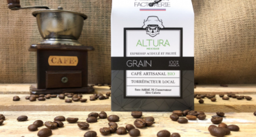 Cafés Factorerie - Café Mexique Altura Bio Grains - 250g