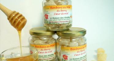 La Maison des Abeilles - Bonbons Cœur De Miel Au Miel Du Berry