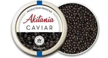 Akitania, Caviar d'Aquitaine - Caviar D'aquitaine Akitania Reserve 100g
