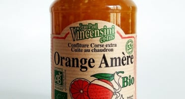 Jean-Paul Vincensini et Fils - Confiture d'Orange Amère Bio