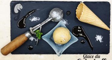 Glace du Geisshoff - Caramel Beurre Salé de Guérande Crème Glacée Fermière au Lait de Chèvre 750 ml