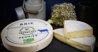 Ferme de La Tremblaye - Brie Fermier Bio Au Lait Entier 1kg